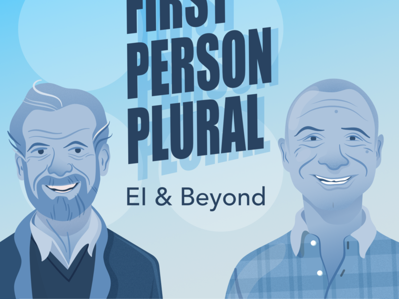 First Person Plural: Emotional Intelligence and Beyond Podcast Cover.